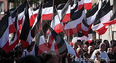 03 Sept 11 Neo-Nazi Demo in Dortmund Germany- Editorial Stock Photo