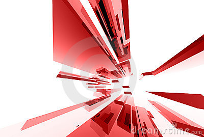 036 abstrakcjonistycznych elementów szklanych