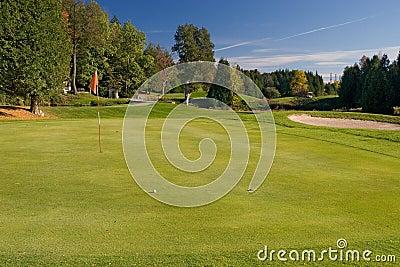 04高尔夫球视图