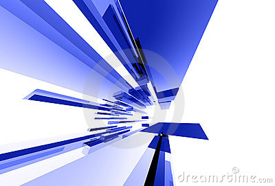 043 glass abstrakt element