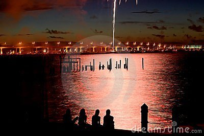 07-04-06 Stuart, Florida-Feuerwerke (25)