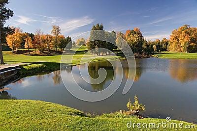 09高尔夫球视图
