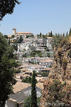 0ld town of Granada, Spain