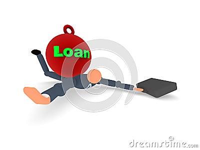 1个贷款项目