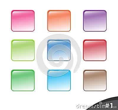 1按钮分开发光的网站