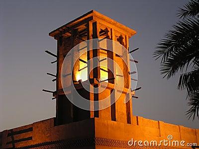 1 ветер башни Дубай