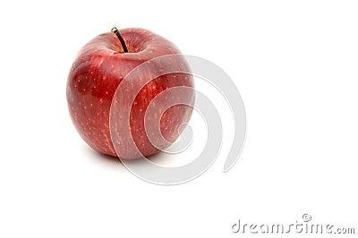 1 красный цвет яблока