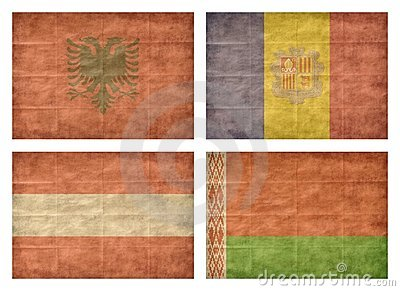 1/13 Flags of European countries