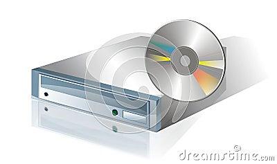 1个光盘驱动器