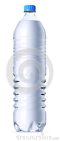 1 5 Liter Plastic Bottle Stock Image Image 26736171