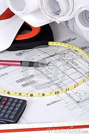 1 byggnadsritningserie
