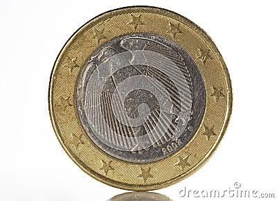 1 euro back