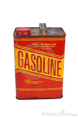 Free 1 Gallon Gas Can Stock Photography - 18632422