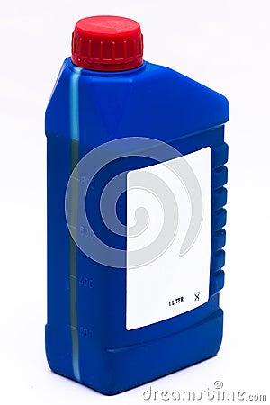 1 Liter package of oil side