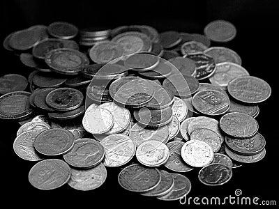 (1) pieniądze sterta