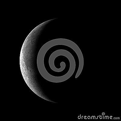 1 quarter moon