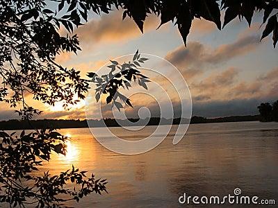1 soluppgång för lakevass s