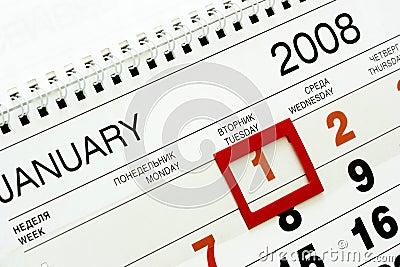 1-st January 2008