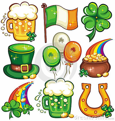 1   St. Patrick s Day icon set series 2