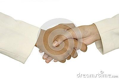 1 uścisk dłoni