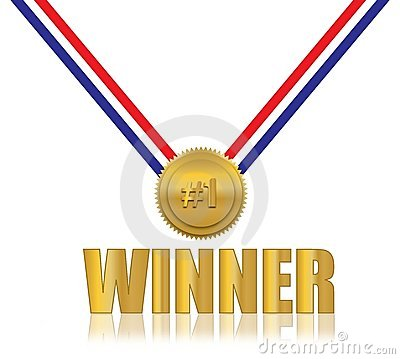 #1 Winner Award
