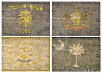 10/13 US state flags