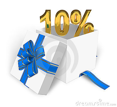 10  discount concept