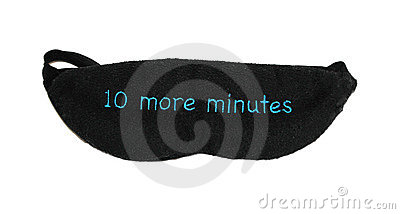 10 more minutes sleep mask