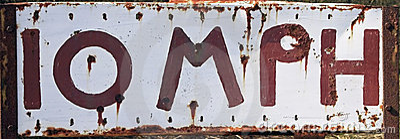 10 MPH  Sing post