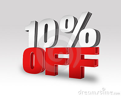 10  OFF Discount