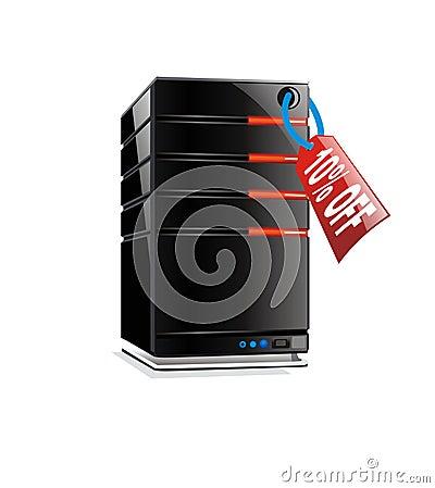 10  off - hosting server