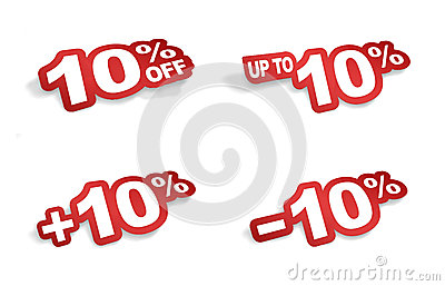 10 percent promotion
