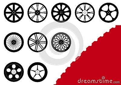10 Rims Set