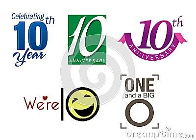 10 th year anniversary