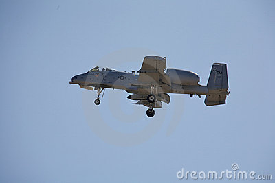 A-10 Thunderbolt Editorial Stock Image