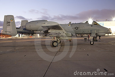 A-10 Warthog Editorial Stock Image