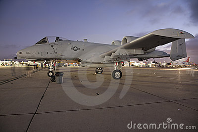 A-10 Warthog Editorial Photography