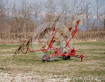 10 Wheel Hay Rake