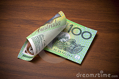 австралийский доллар 100 одно счета
