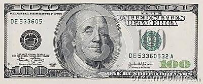 доллары 100