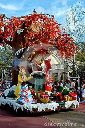 100 Acre Woods on Holiday Parade. Editorial Photo