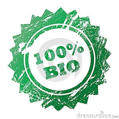 100  Bio stamp