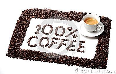 100  coffee