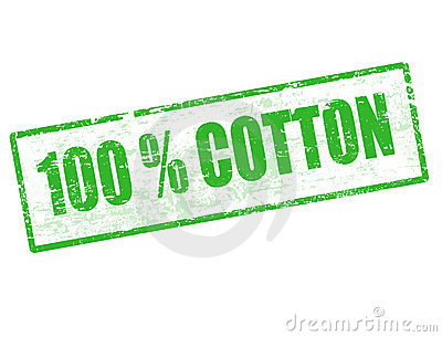 100  Cotton stamp