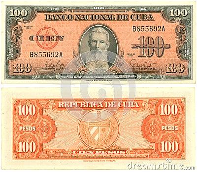 100 Cuban Pesos
