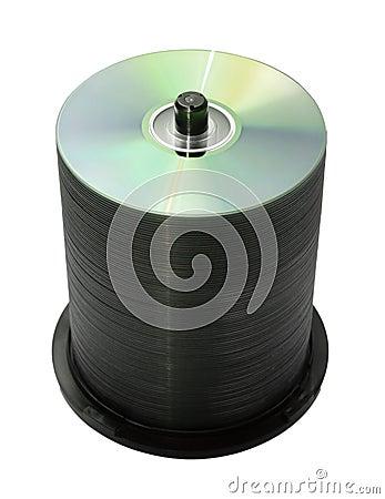100 discos aislados