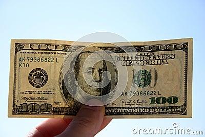 100 Dollar Banknote