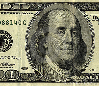 100 dollar bill, Mr. Ben Frank