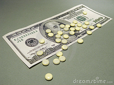 100 dollaro e pillole