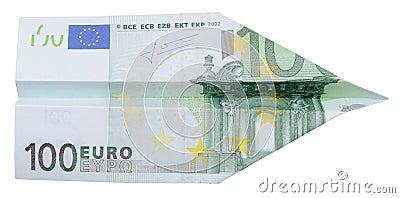 100 euro airplane